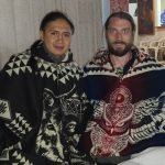 Vinny and Andres with Ponchos (cropped)